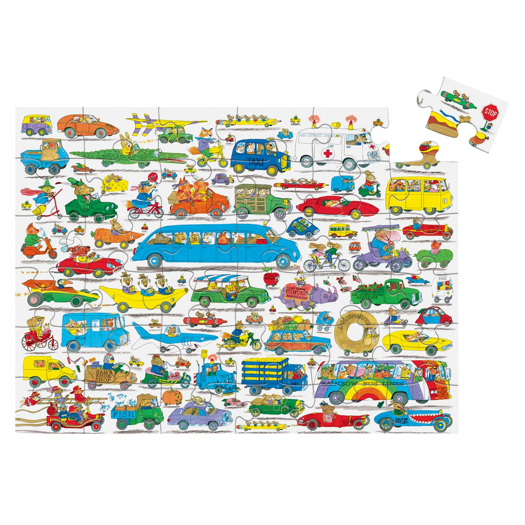 Crocodile Creek 36-pc Cars & Trucks Things That Go Puzzle