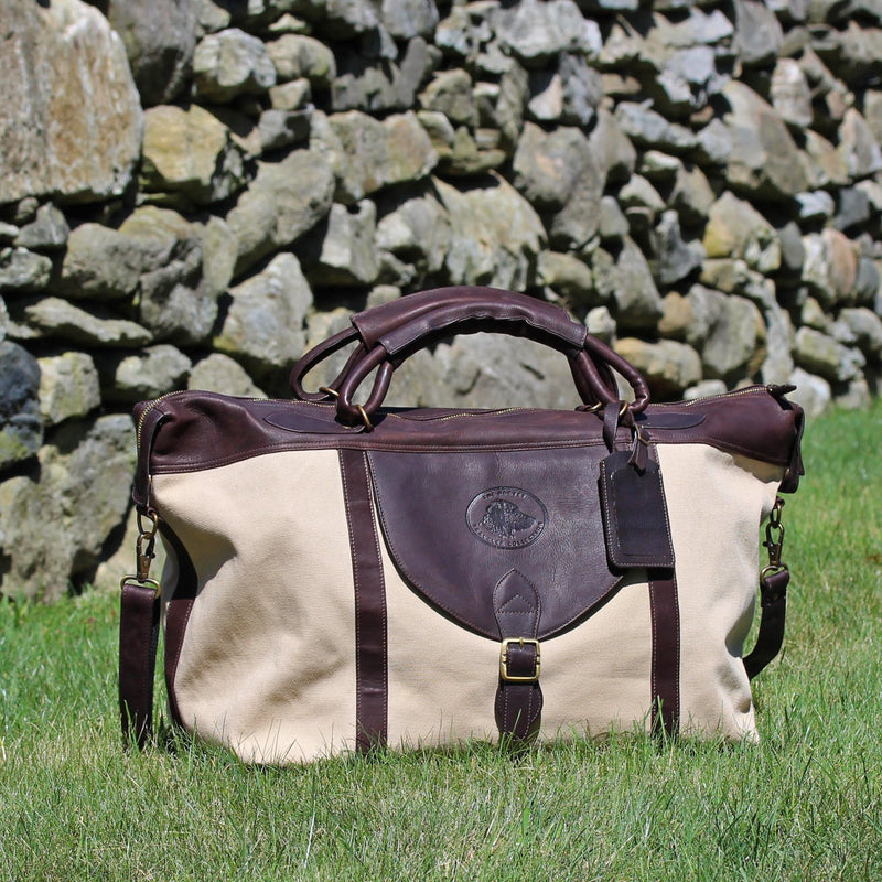 Harvey Traveler Canvas Weekender in Canvas