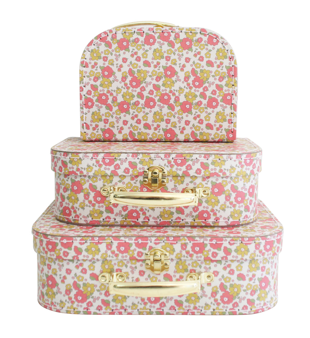 Alimrose Kids Carry Case Set in Chloe Floral Print