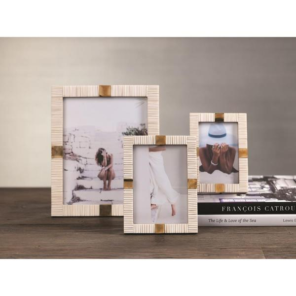 Zodax Maha Bone 5x7 Photo Frame