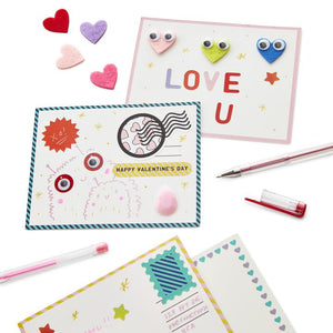 Kid Made Modern Design Your Own Valentines Kit