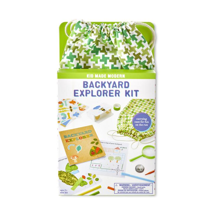 Kid Made Modern Back Yard Explorer Kit