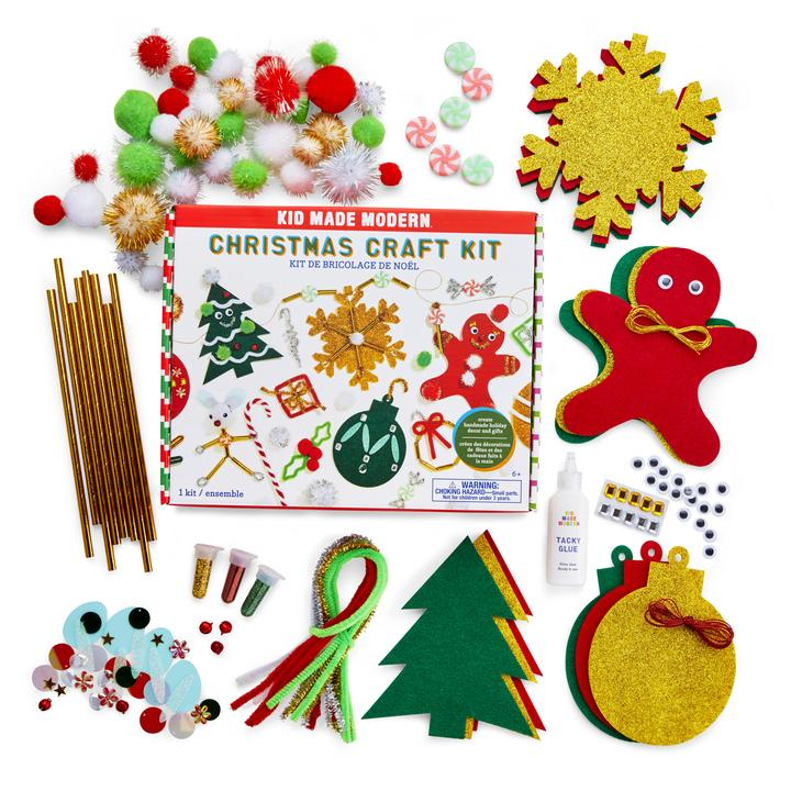 Kid Made Modern Christmas Craft Kit