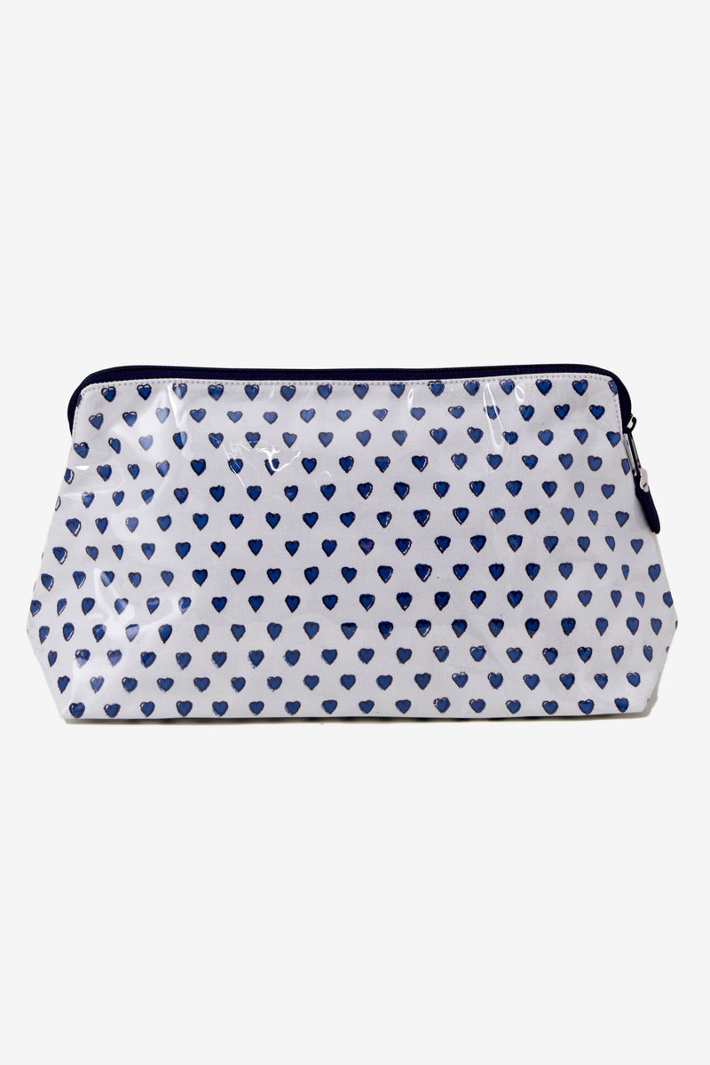 Roller Rabbit Hearts Make Up Bag Large - Multiple Colors!