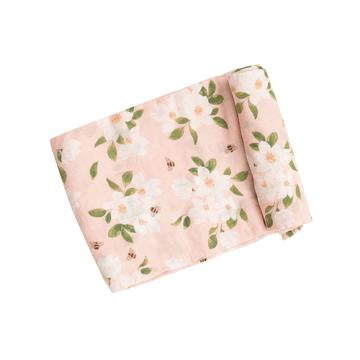 Angel Dear Swaddle Blanket - Magnolias