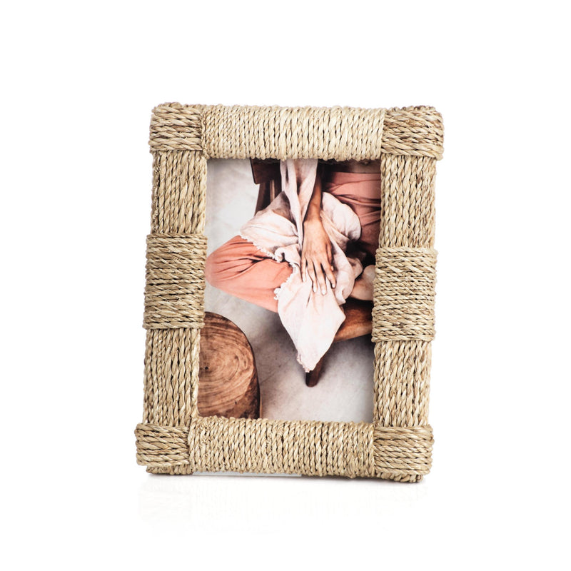 Zodax Abaca Rope Photo Frame