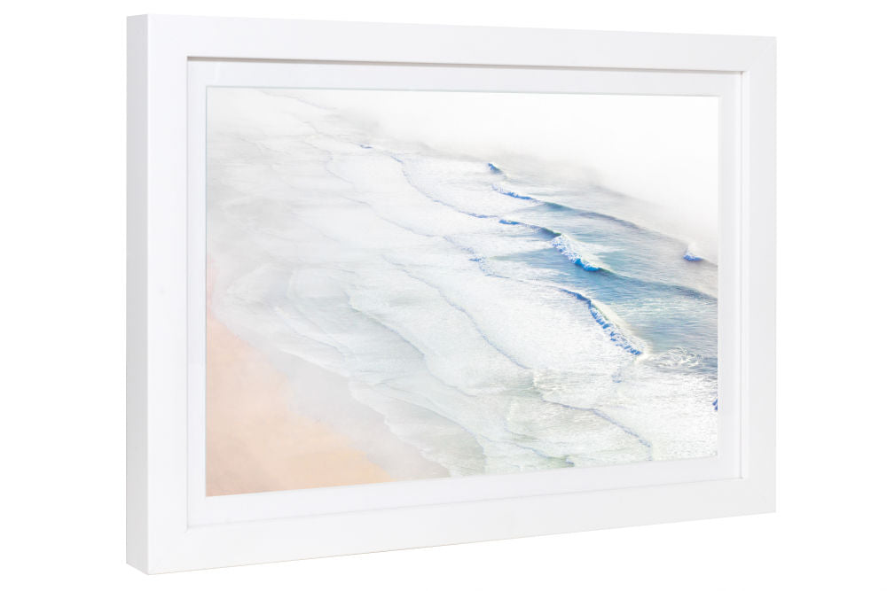 Gray Malin Ocean Waves, San Francisco Mini Print Framed