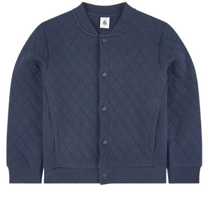 Petit Bateau Livino Quilted Jacket in Navy