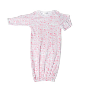 Joy Street Kids Boston Baby Gown in Strawberry Ice Cream