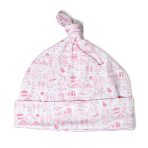 Joy Street Kids Boston Baby Hat in Strawberry Ice Cream
