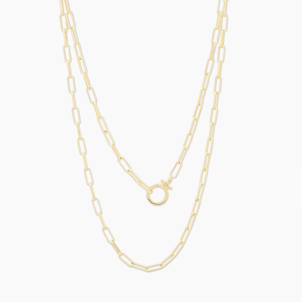 Gorjana Parker Wrap Necklace in Gold