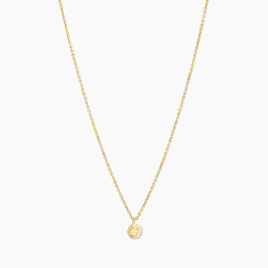 Gorjana Chloe Charm Adjustable Necklace in Gold