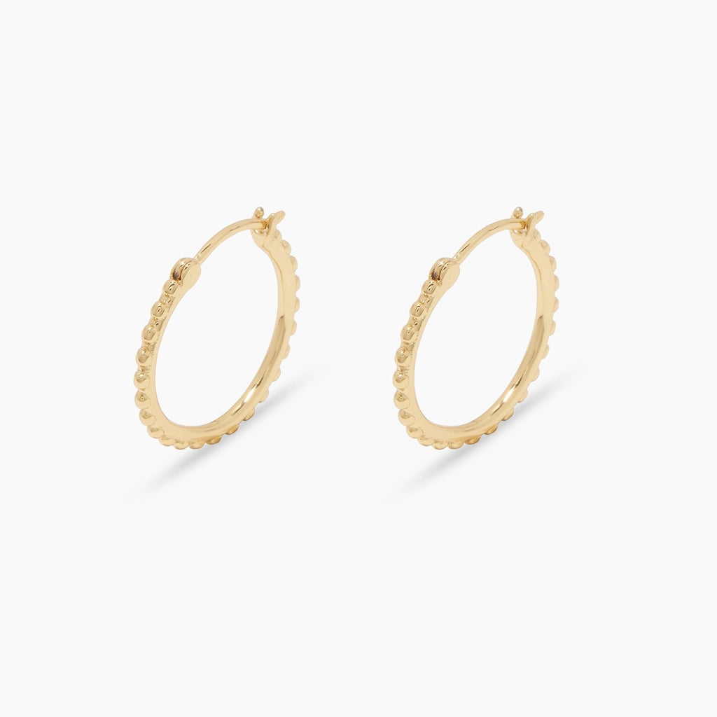 Gorjana Bali Small Hoops in Gold