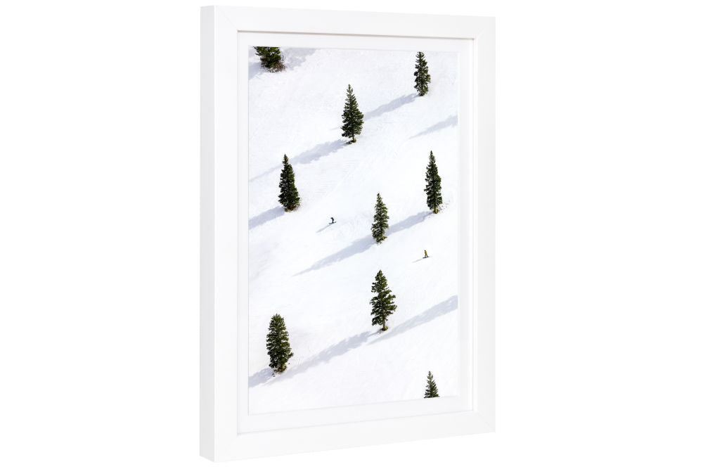 Gray Malin Sheer Bliss, Aspen Mini Print Framed