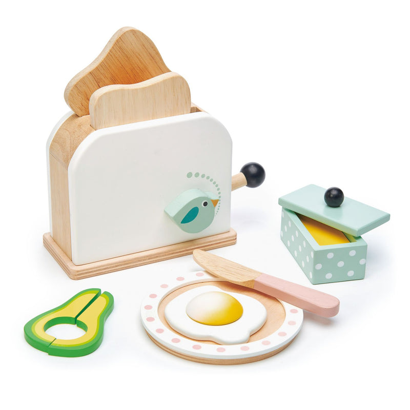 Tender Leaf Toys Breakfast Toaster Set