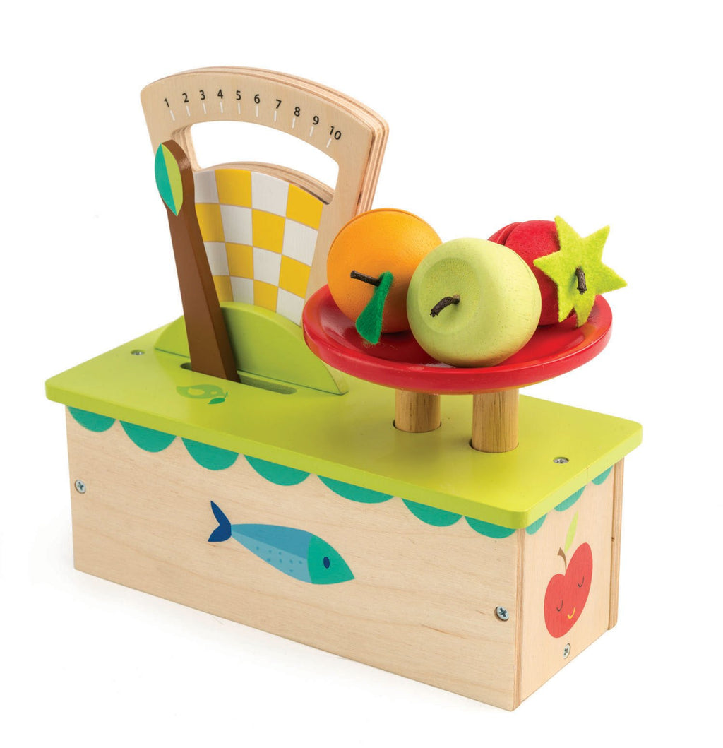 Tender Leaf Toys Weighing Scale