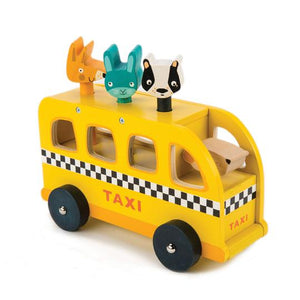 Tender Leaf Toys Animal Taxi