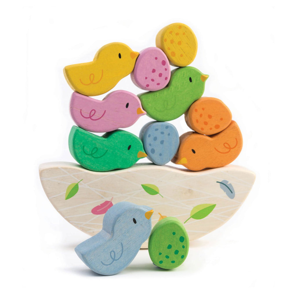 Tender Leaf Toys Rocking Baby Birds Set