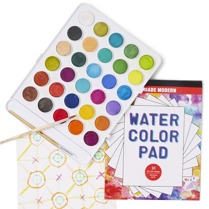 Kid Made Modern Wondrous Watercolor Paint Kit