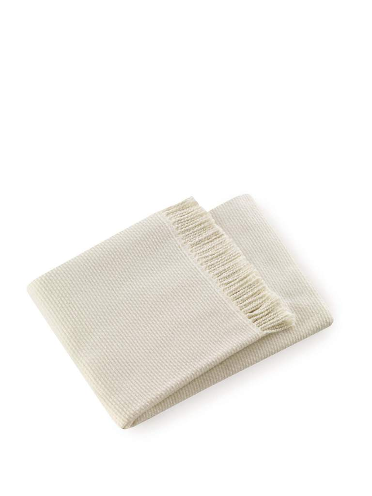 "A Soft Idea ""The Ski House Blanket"" in Cream"