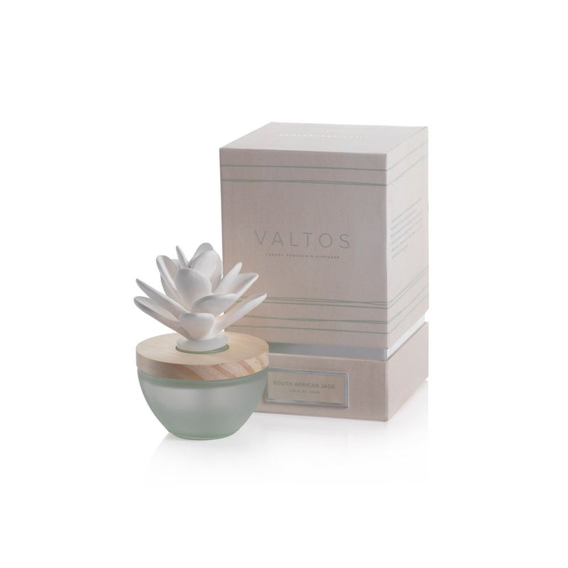 Zodax Valtos Porcelain Diffuser in South African Jade