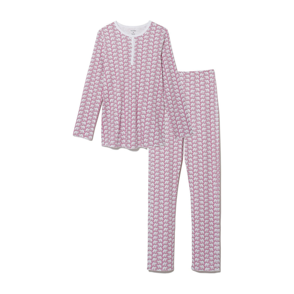 Roller Rabbit Women's Hathi Pajamas in Pink