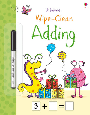 Usborne Adding Wipe Clean Book