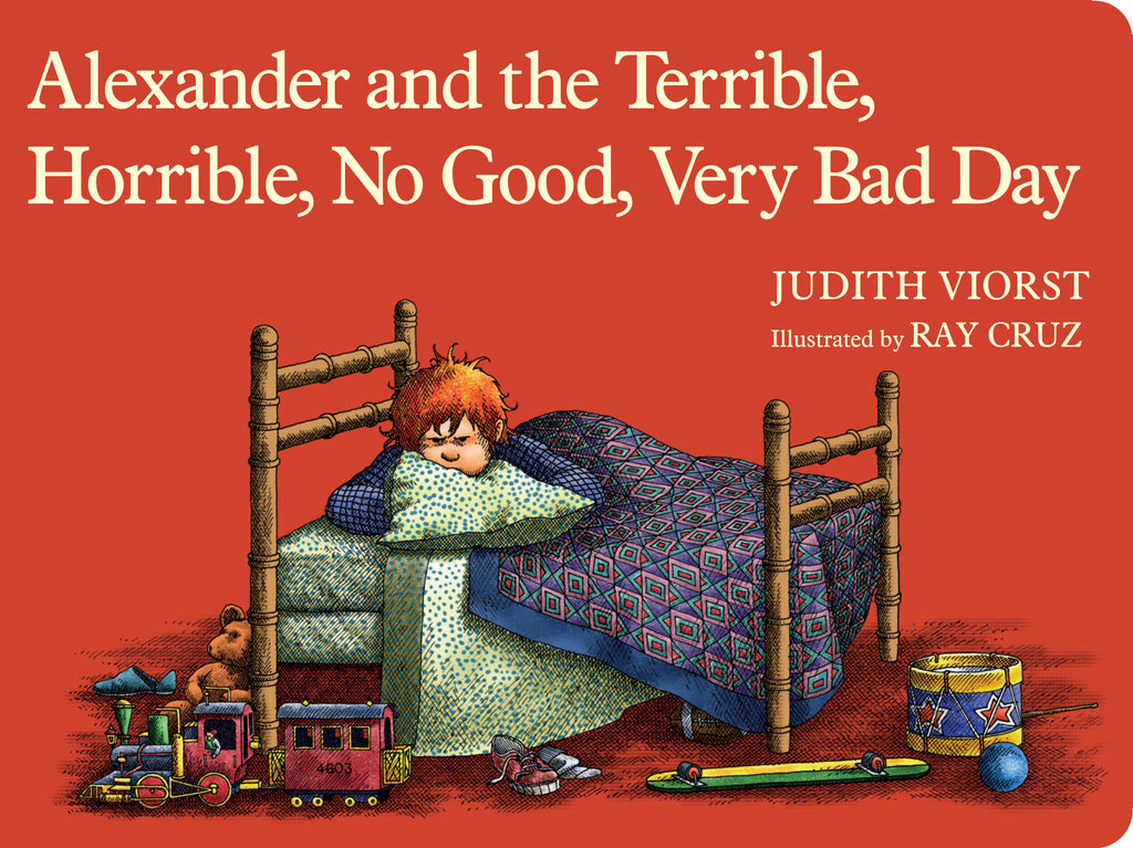 Alexander and The Terrible, Horrible, No Good, Very Bad, Day Board Book by Judith Viorst