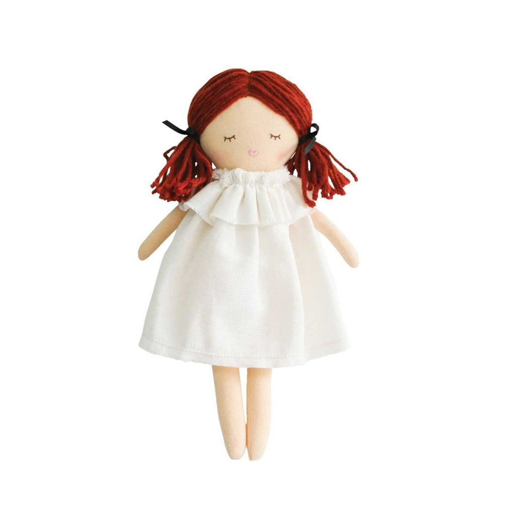 Alimrose Mini Matilda Asleep Awake Doll in Ivory