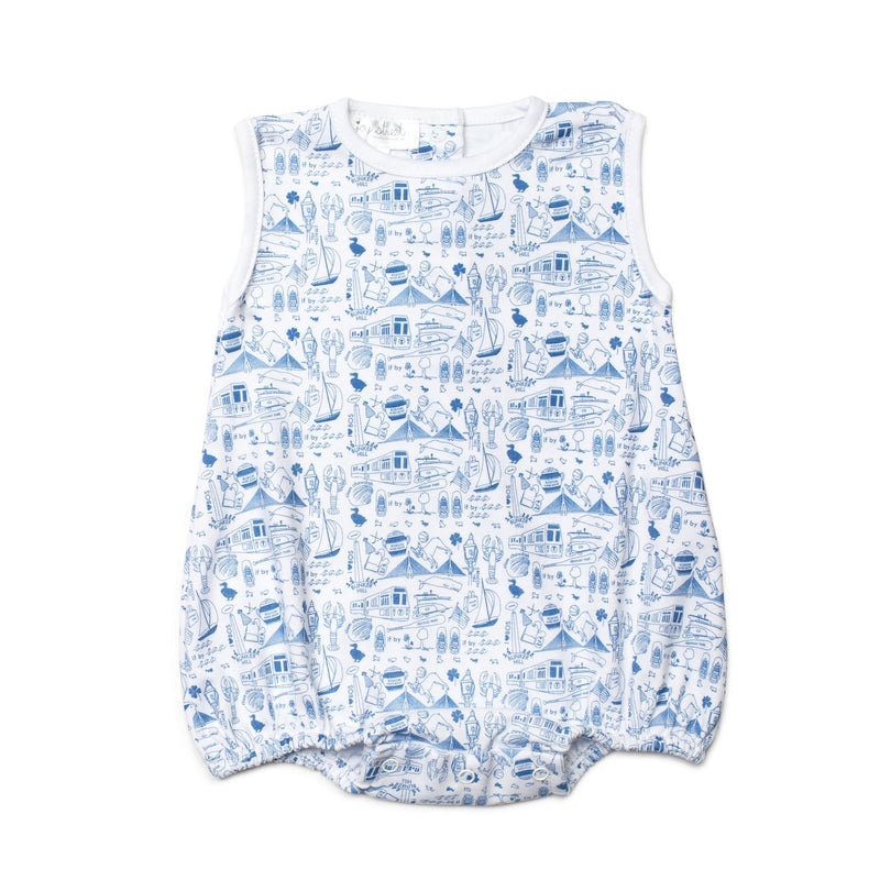 Joy Street Kids Boston Bubble in Sailor Blue
