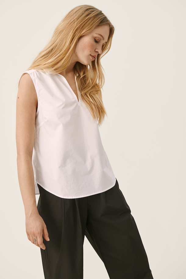 Part Two Ivora Top in White
