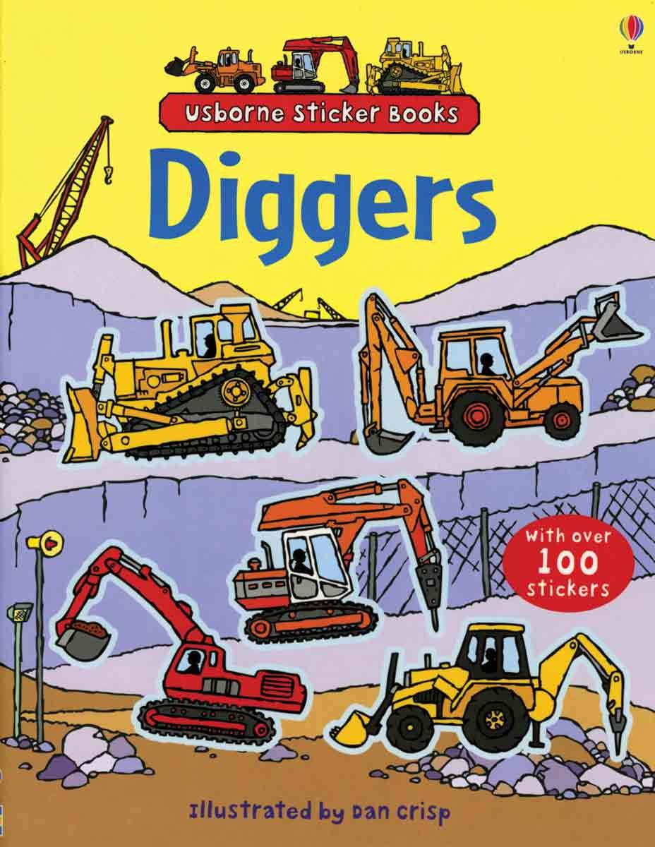 Usborne Diggers Sticker Book