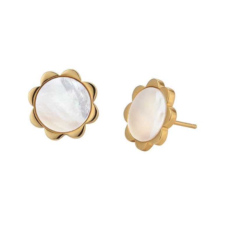 *Trunk Show* Asha by Ashley McCormick Flower Stud