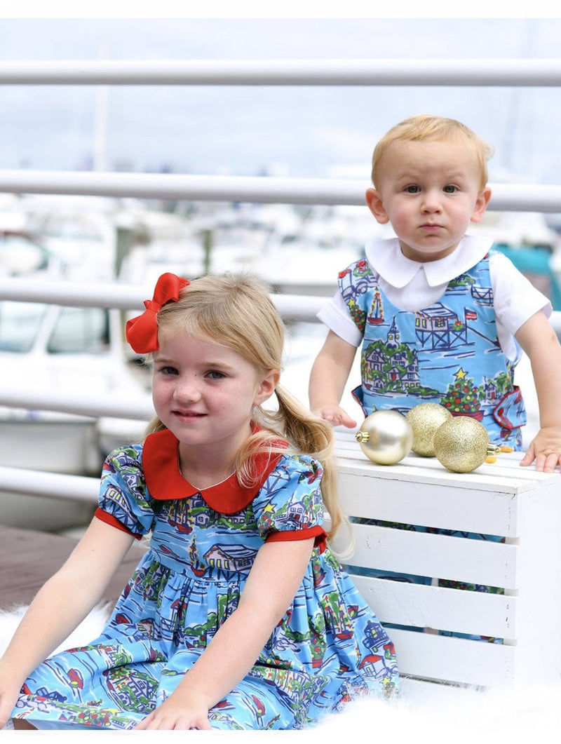 *Pre-Order* Maddie & Connor Nantucket Seaside Holiday Dress