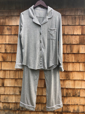 Whitney + Winston Lucy Pajama Set in Storm