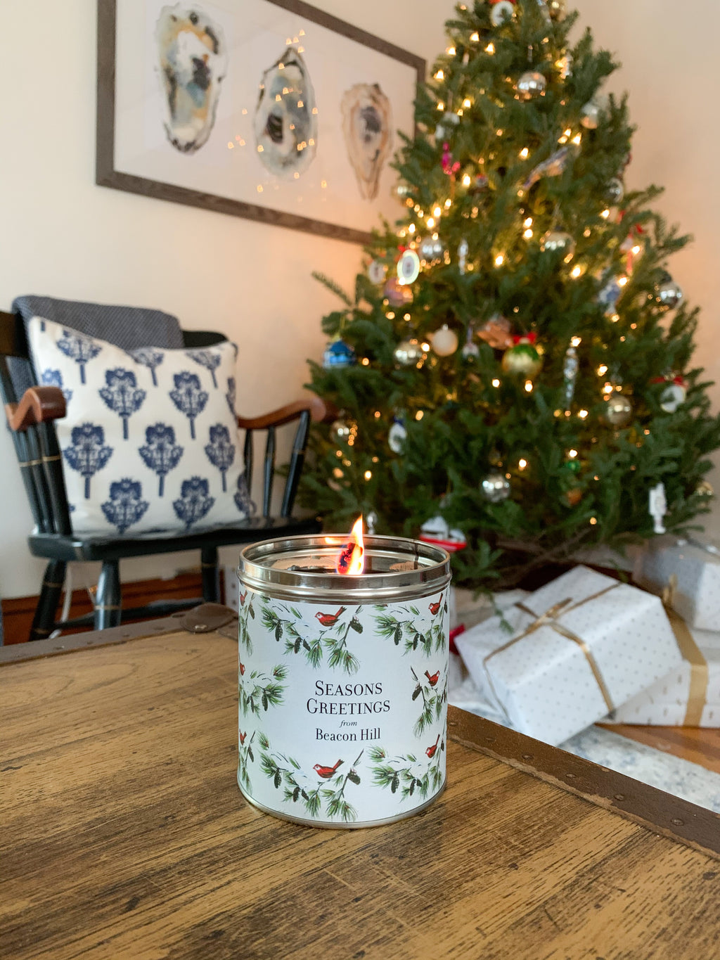 Aunt Sadie's Beacon Hill Tree-in-a-Can Candle