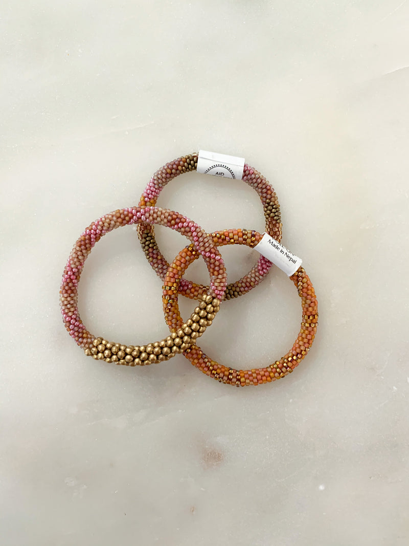 Black Women's Health Imperative Aid Through Trade Bracelet - Set of 3