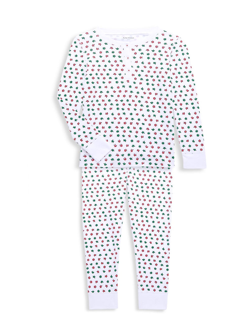 Roller Rabbit Kids Pajama Set in Starry