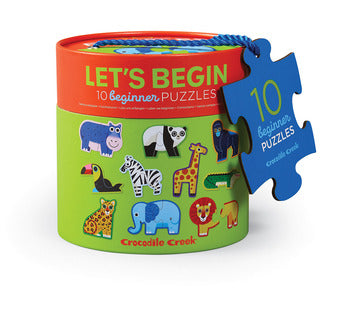 2-Piece Let's Begin Jungle Puzzle
