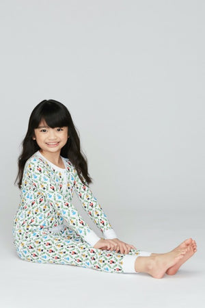 Roller Rabbit Kids Pajamas in Sugar Plum