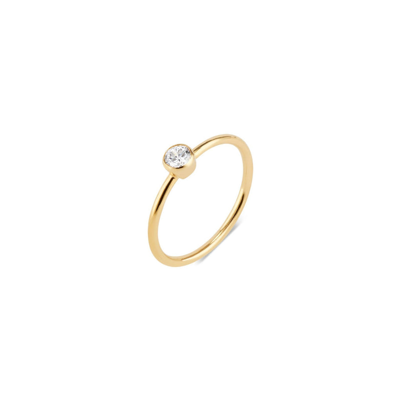 Elli Parr Leona Gold Stacking Ring