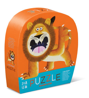 12-Piece Lion Roar Mini Puzzle