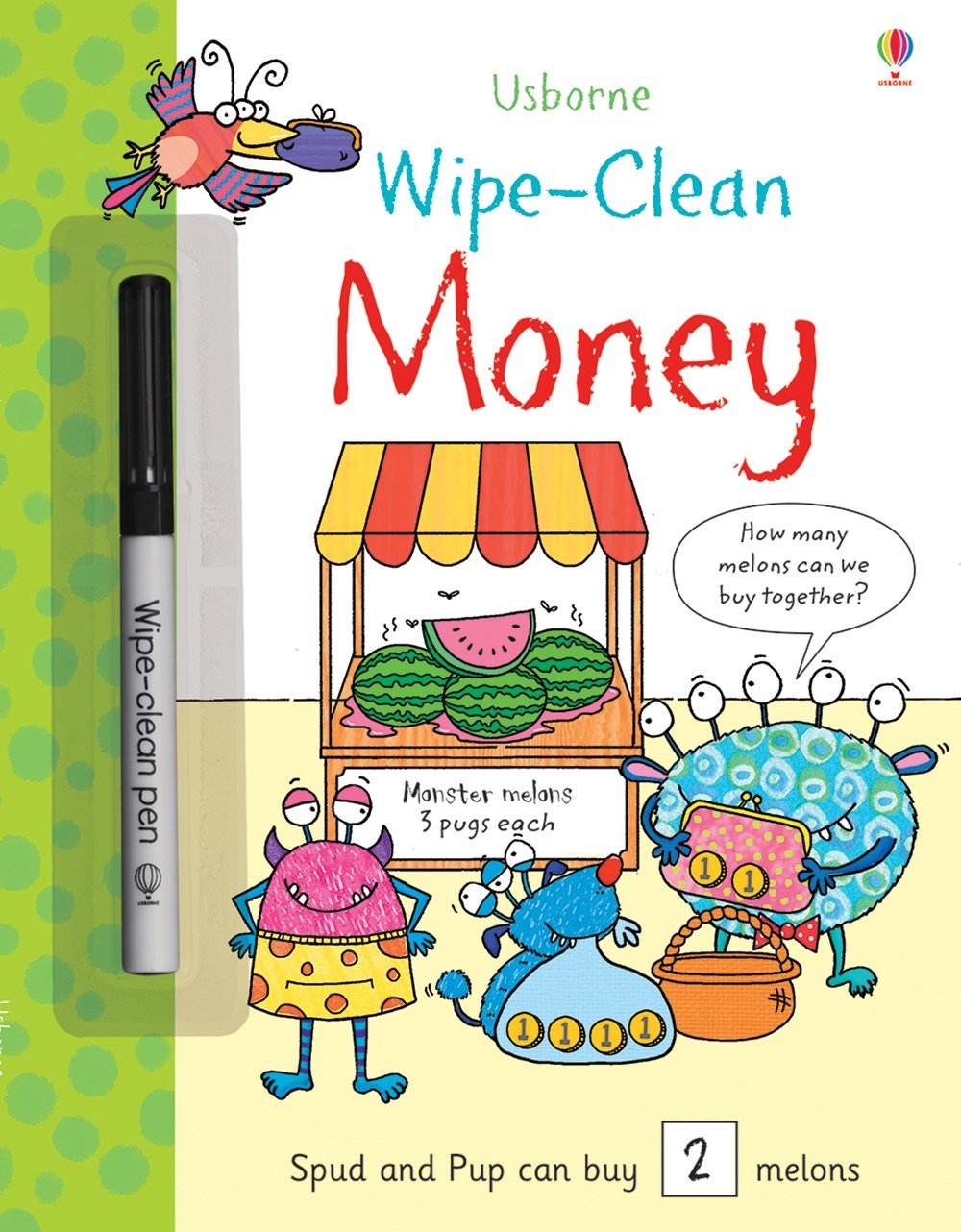 Usborne Money Wipe Clean Book