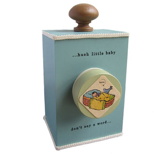 "Tree ""Hush Little Baby"" Music Box - Multiple Colors"