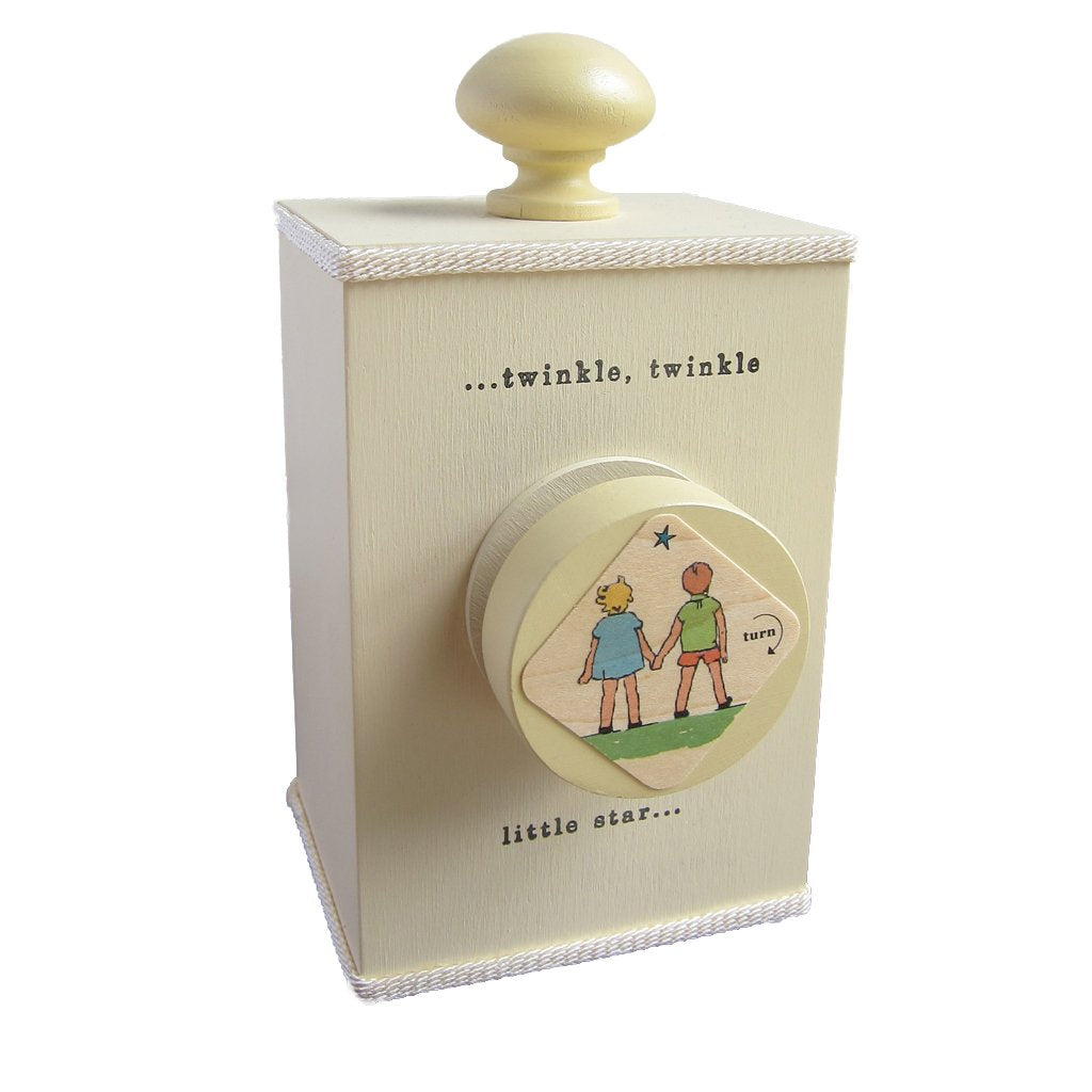 "Tree ""Twinkle Twinkle"" Wind Up Music Box - Multiple Colors"