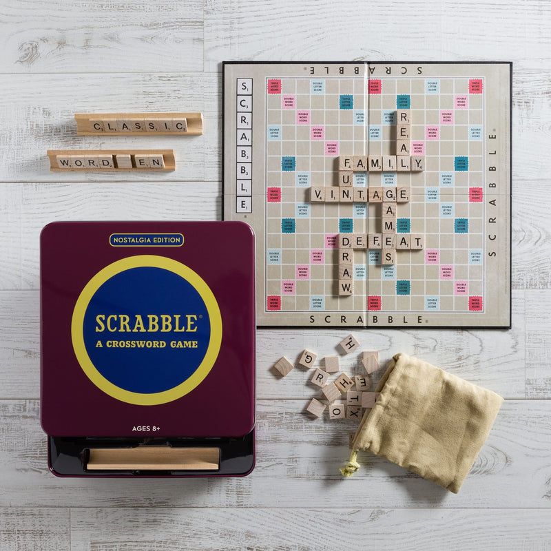 WS Games Scrabble Nostalgia Tin