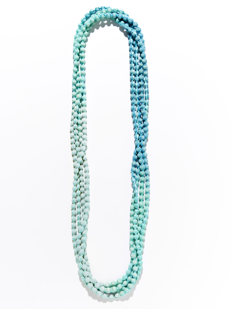 Roller Rabbit Gudli Necklace in Turquoise Ombre