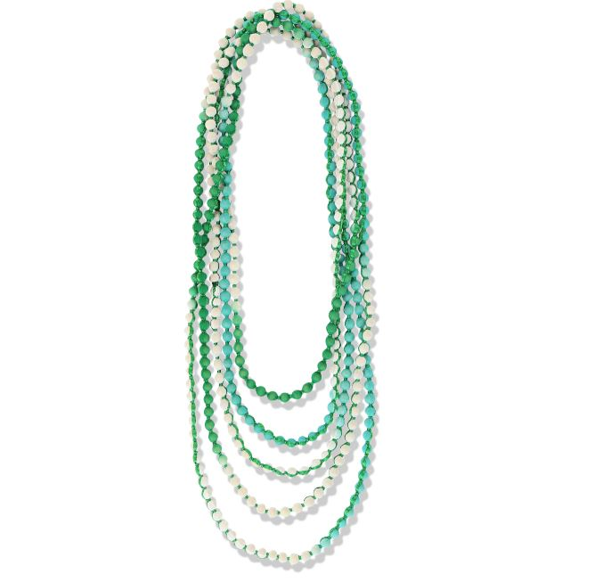 Roller Rabbit Gudli Necklace in Green Ombre
