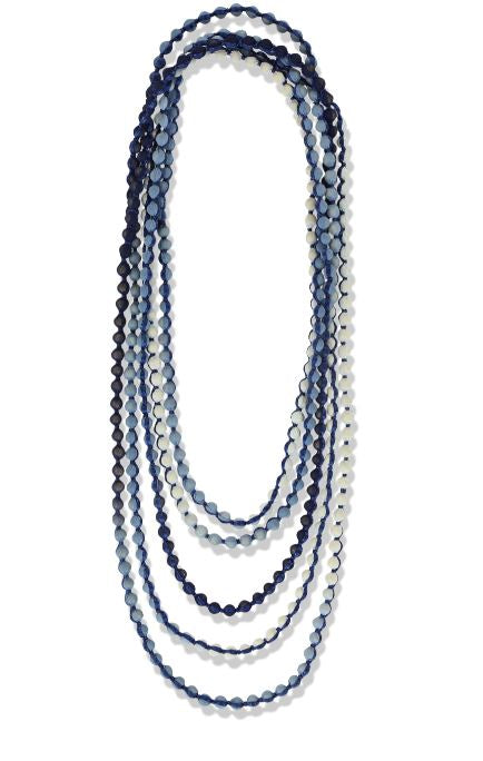 Roller Rabbit Gudli Necklace in Navy Ombre