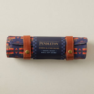 Pendleton Roll-Up Chess & Checkers Set